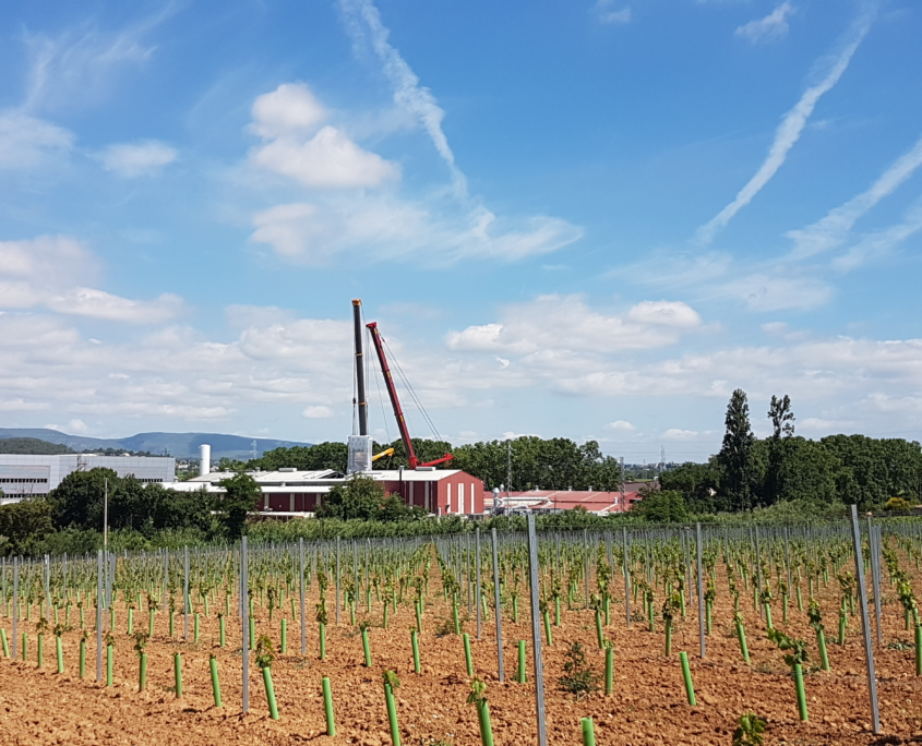 Gruas Serrat - Industria - cerca de Vilafranca del Penedés