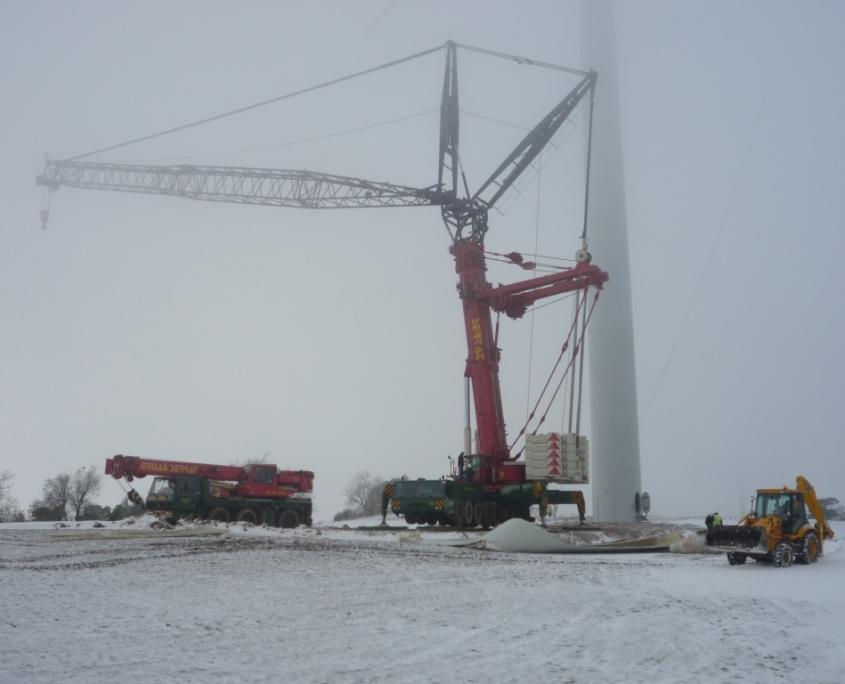 GSerrat - montaje eólico - Rubió