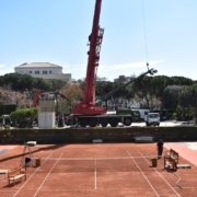 Gruas Serrat - Real Club de Tenis Barcelona - Abril 2019