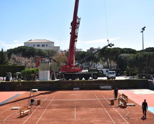 Gruas Serrat - Real Club de Tenis Barcelona - Abril 2019